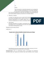 Estadísticas y analisis de resultado