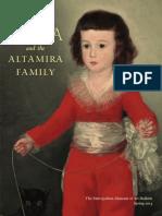 Goya and Altamira Family the Metropolitan Museum of Art Bulletin v 71 No 4 Spring 2014