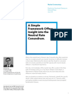 Rules of Thumb for Interest Rates 2014