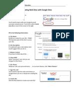 Google Sites Tutorial April2010