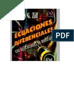 Portada Libro Ecuacones Diferenciales