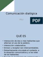 Comunicación Dialógica y Expositivo