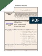 teaching strategies plan 2