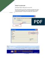 Penggunaan Access 2007