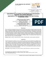 Aplicacion de Modelos de Periodizacion Una Revision Sistematica