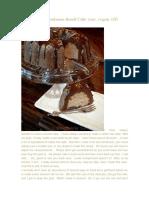 Almond Cardamon Bundt Cake