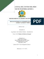 Balance de Materia en El Beneficio de Pollos de La Avicola La Chacra-chilca
