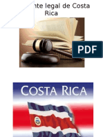 Ambiente Legal de Costa Rica Diapositiva