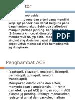 Vasodilator (Tambahan Selain Diuretik&Digoxin)