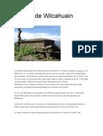Ruinas de Wilcahuain