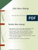 Rinitis Non Alergi
