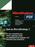presentación mycrostrategy