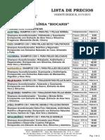 Biocanis Lista de Precios