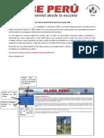 Guía Para El Registro de Datos en GLOBE Perú