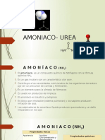 Amoniaco Urea