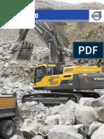 Ficha Técnica - Excavadoras EC380D, EC480D