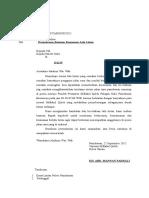 Surat Rekomendasi contoh