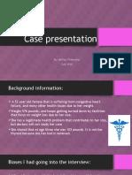 case presentation ppt