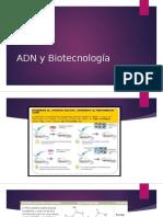 ADN y Biotecnología