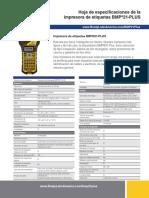 BMP21-PLUS Spec Sheet Latin America