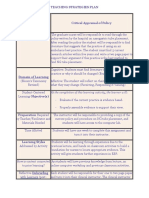 teaching strategies plan-4