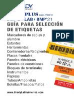 BMP21-PLUS-BMP21-Lab Label Selection Guide LA