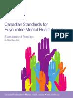 Canadian Standards for Psychiatric Mental Health Nursing