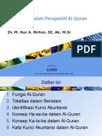Akuntansi Dalam Perspektif Al Quran