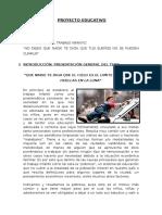 Proyecto Educativo Derecho Laboral