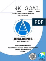 Bank Soal Teknik Elektro konsentrasi Sistem Instrumentasi dan Elektronika