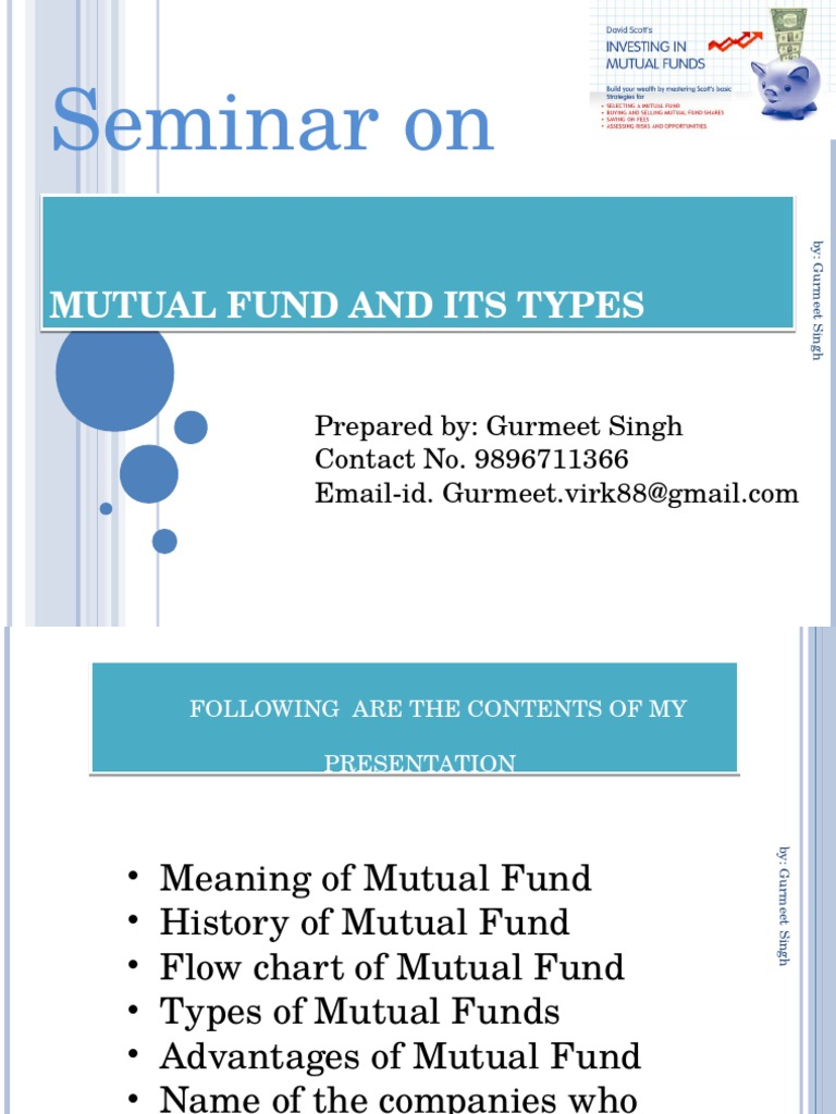 Mutual fund and its typesppt mutual funds securities finance nvjuhfo Choice Image