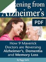 Awakening From Alzheimers