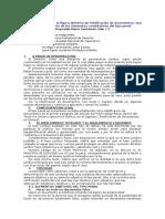 Reestructuración de La Figura Delictiva de Falsificación de Documentos