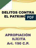 Delito de Apropiacion Ilicita y Estafa-Alvarez-Actualizado