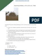Econoline Free Standing Storage Building