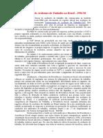 Os Números de Acidentes Do Trabalho No Brasil