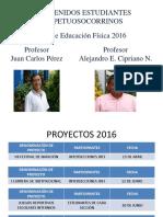 2016 PAUTAS GENERALES EDUFIS 2° AÑO