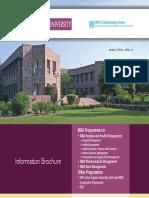 IIHMR University Brochure 2016-18