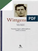 Estudio Introductorio Wittgenstein Reguera, I.