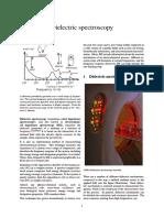 Dielectric Spectroscopy