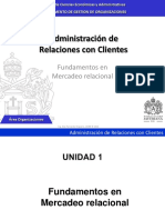 Fundamentos Marketing Relacional