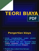 mater TEORI BIAYA