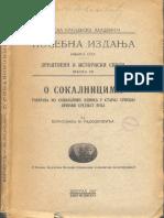 Borislav M. Radojković~O sokalnicima