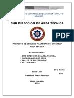 PROYECTO Iluminacion Electricidad-2016