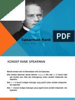 Spearman Rank