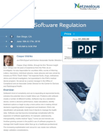 FDA Device Software Regulation