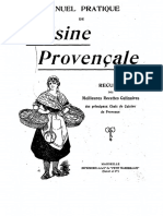 Manuel Pratique Du Cuisine Provencale