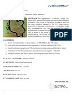 Oral Manifestations PDF Draft 1 Apr 16 2013