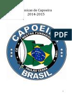 Capoeira Cantigas 2014-2015