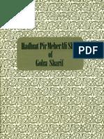 Biography of Pir Mehr Ali Shah